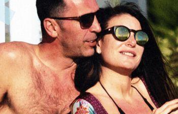 Buffon e D'Amico, primo sole in spiaggia tra coccole, baci e figli