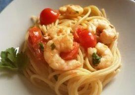 Una delizia che viene dal mare: spaghetti con gamberetti