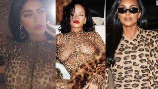 Kylie copia Rhianna, che ha plagiato Kim, che si ispira a Naomi