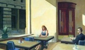 Ispirati dai dipinti di Hopper, personaggi sconosciuti e indecifrabili