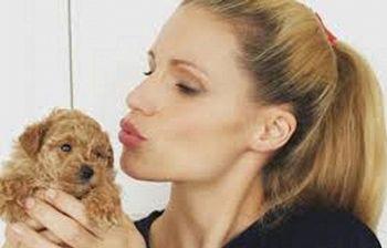 Michelle Hunziker: quando sono rimasta incinta la mia barboncina...