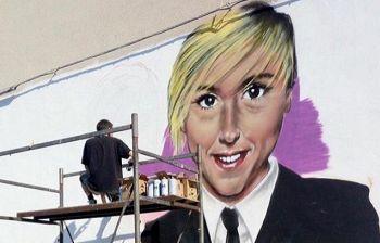 Nadia Toffa, il murale in suo ricordo: