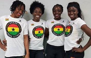 Staffettiste del Ghana fanno la colletta, senza paga durante i Mondiali