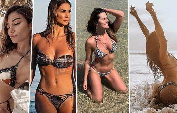 Le vip in quarantena sfogliano l'album dei ricordi, in bikini su Instagram