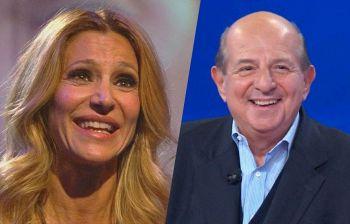Adriana Volpe, Magalli sorpreso in tv:
