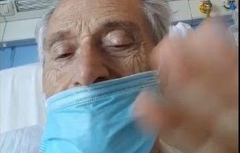 Amedeo Minghi ricoverato, video dall'ospedale: