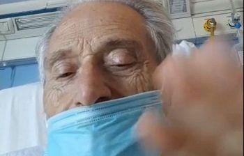 Amedeo Minghi ricoverato in ospedale nel video spunta con la mascherina