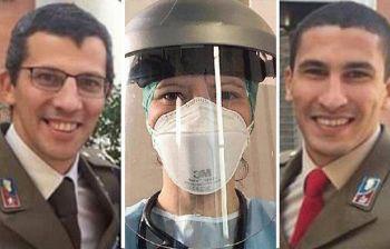 Storia di tre fratelli dall'atletica alle corsie d'ospedale contro il virus
