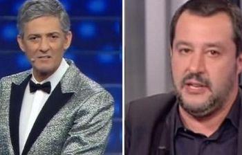 Fiorello a Salvini: