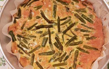 Cucina di primavera: frittata di asparagi al forno