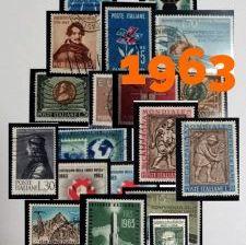 1963: i francobolli memorabili dell'anno