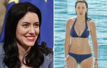 Lucia Azzolina, ministro in bikini: in spiaggia a Sperlonga per qualche ora