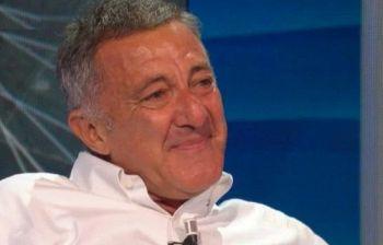 Luca Barbareschi, lacrime a dirotto