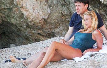 Giuseppe Conte, il premier e la compagna Olivia Paladino relax al Circeo