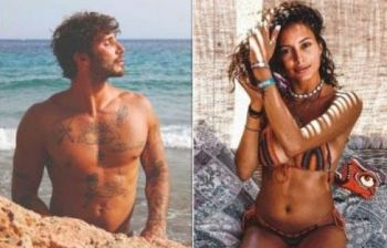 Mariana Rodriguez in barca con Stefano De Martino: