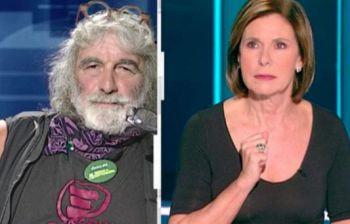 Mauro Corona insulta in diretta tv Bianca Berlinguer. Lei reagisce così