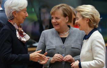 Angela, Christine e Ursula: le tre moschettiere dell'Europa unita