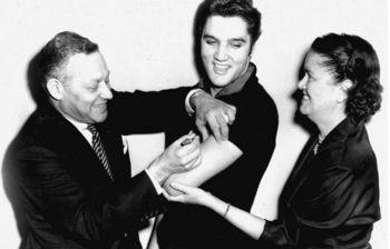 Quando Presley si vaccinò per la polio e convinse l'80% degli americani