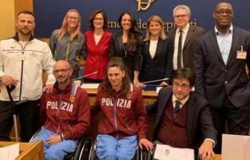 Pari opportunità per atleti paralimpici nelle squadre dello Stato, era ora