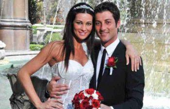 Manuela Arcuri sposa per la seconda volta Giovanni Di Gianfrancesco: «Mio figlio porterà le fedi»