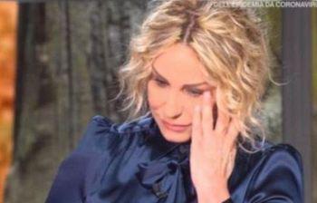 Antonella Clerici in lacrime:
