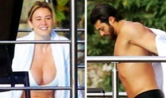 Diletta e Can fotografati mezzi nudi sul lago di Como, riscoppia la...
