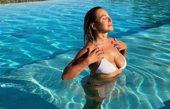 Barbara d'Urso, fuga all'insegna del relax in Abruzzo