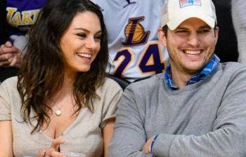 Ashton Kutcher e Mila Kunis choc: