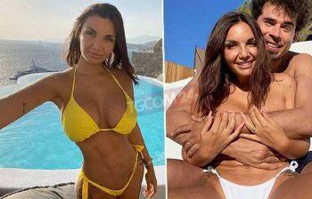 """Elettra Lamborghini in bikini a Mykonos: """"Ciao da noi 3"""
