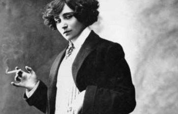 Storia di George Sand costretta a uno pseudonimo maschile per pubblicare..