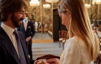 Matrimonio da sogno del figlio dell'uomo più ricco d'Italia con la sua Anna