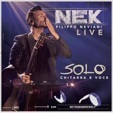 Nek - Solo chitarra e voce