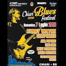 Chiari Blues Festival 2019 - KENNY WAYNE SHEPHERD + guests