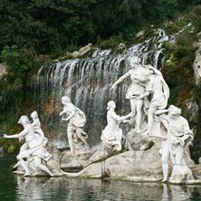 Parco della Reggia di Caserta - Corso Giannone