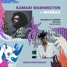 Kamasi Washington + Masego