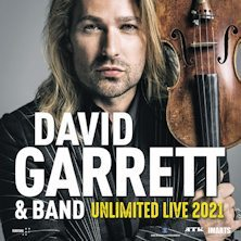 David Garrett e Band-Unlimited Live 2021