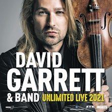 David Garrett e Band-Unlimited Live 2021