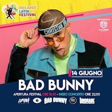 Bad Bunny Milano Latin Festival