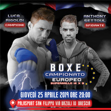 Boxe Campionato Europeo Supergallo