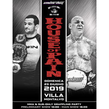 House of Pain - SLAM FC Underdog 3 e WAR Submission Kings Championship 3