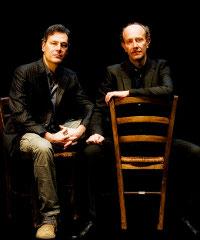 Ale e Franz sul palco con