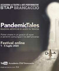 Pandemic Tales, festival online dell'Accademia Stap Brancaccio