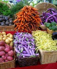 Il mercato contadino a Piacenza