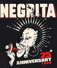 I Negrita tornano in tour nei teatri di tutta Italia