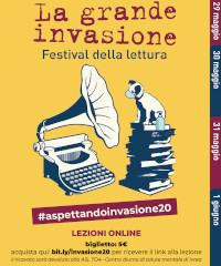 #ASPETTANDOINVASIONE20: sei lezioni online