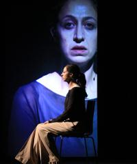 Gaia Saitta nel drammatuico