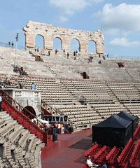 I backstage delle edizioni passate sui social di Fondazione Arena