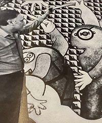 Il nuovo archivio di Milano ospita una mostra di Enrico Baj