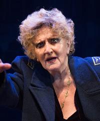 Francesca Benedetti in scena con
