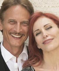 Cesare Bocci e Tiziana Foschi in
